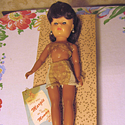 Little Miss Margie with Tag & Box, Belle Doll Toy Corp