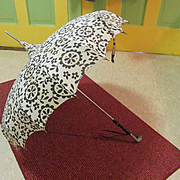 Umbrella Parasol, Hollander & Son, Made in Paris Handle