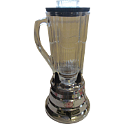 Waring Aristocrat Model MR-1 Beehive Chrome Four Cup 2 Speed Blender
