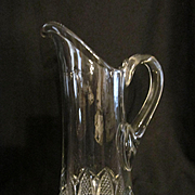 SOLD EAPG Button Arches Tankard Pitcher by Duncan Miller