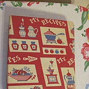 1964 My Recipes Cookbook