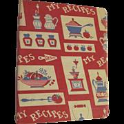 1964 My Recipes Cookbook
