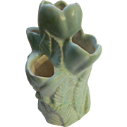 Niloak Green Crocus Strawberry Jar