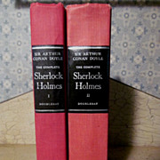 The Complete Sherlock Holmes by Sir Arthur Conan Doyle, 2 Vol, 1960