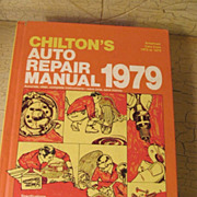 Chilton's 1972-79 Auto Repair/Part Manual