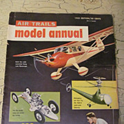 SOLD 1955 Annual Air Trails Model Manual Magazine