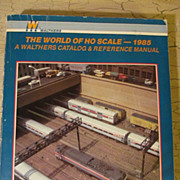 HO  Train 1985 Walthers Catalog & Reference Manual