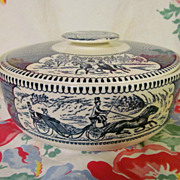 Currier & Ives Casserole, Royal China