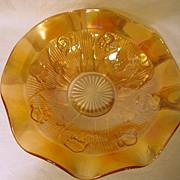 Iris & Herringbone Marigold Fruit Bowl