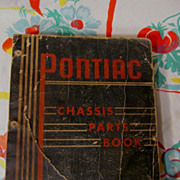 1933 - 1942 Pontiac Chassis Parts Book