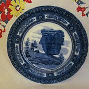 Royal Doulton,Balanced Rock Plate, Buhl Idaho