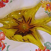 """Lovely Venetian 12 3/4"""" Fish Bowl, J.I. Co"""