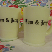 2 McKee Custard Tom & Jerry Mugs + 2 More