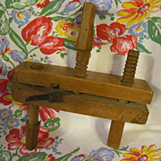Old Wood Molding Planer