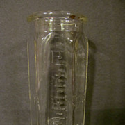 Pyrex Wide Mouth Baby Bottle, Patent 1919