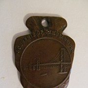 Early San Francisco Souvenir, Golden Gate Bridge
