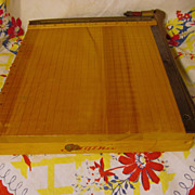 """Ingento #4, 12"""" Guillotine Paper Cutter"""