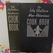 SOLD 1945 Lily Wallace New American Cook Book