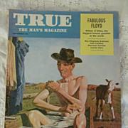 SOLD 1956 True, the Man's Magazine, September
