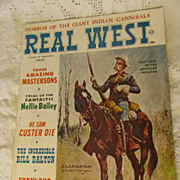 1964 Real West Magazine, January, A Charlton Publication