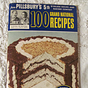 1954 Pillsbury,100 Grand National Recipes Cook Book