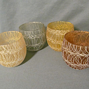 4 Color Craft, Spaghetti Roly Poly Barware Tumblers