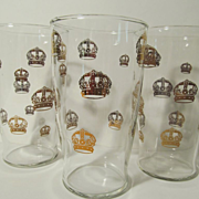 3 Standard Gold Crown Gas,Oil Premium Tumblers
