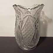EAPG Pattern Glass Celery Vase
