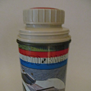 1967 Auto Race Metal Lunch Box Thermos, King Seeley Thermos
