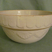 """Pottery 10"""" Mixing Bowl with Nice Design"""