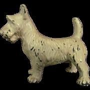 Cast Iron Scottie, Terrier Paperweight