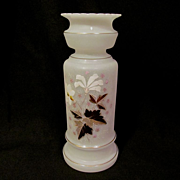 "Bristol 12"" Floral Hand Painted Vase"