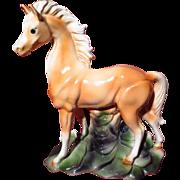 Maddux of California Palomino Horse TV Lamp