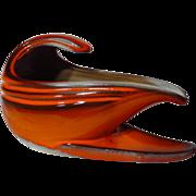 Beauce Pottery Cartier Le Flambe Gravy Boat