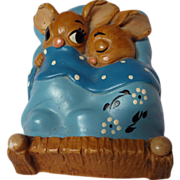 PenDelfin Stoneware Rabbit Twins