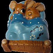 PenDelfin Stoneware Rabbit Twins