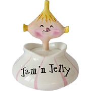 Vintage Holt Howard Pixieware Jam 'n Jelly Jar