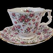 "Royal Albert Nell Gwynne Series ""CHELSEA"" Tea Cup Set"