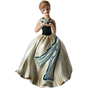 Vintage Beauty Napco Lady Figurine Planter