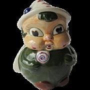 Vintage Occupied Japan Lady Bug Cookie Jar