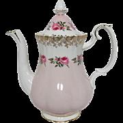 Royal Albert Brides Maid Pattern Coffee Pot