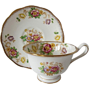 Early Royal Albert EVESHAM Pattern Tea Cup and Saucer