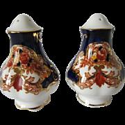 SOLD Royal Albert HEIRLOOM Pattern Salt & Pepper Shakers
