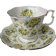 "Royal Albert Nell Gwynne Series ""DRURY LANE"" Tea Cup Set"