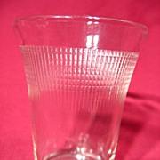 Saguenay Glass Crystal Juice Tumbler ~ 5oz