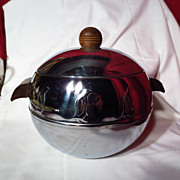 West Bend Penguin Hot and Cold Server / Ice Bucket