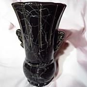 Vintage 1940's Brush McCoy Cobweb Vase - Model 074