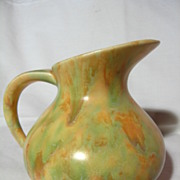 Crown Devon Polychrome Pitcher Vase