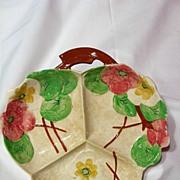 Avon Ware Hand Decorated Three Part Serving Bowl