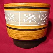 Ilkra Keramik Squeeze Bag Decorated Planter Pot